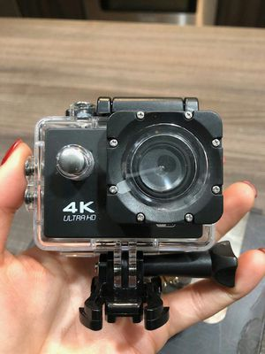 Brand new waterproof sports action camera 4k with remote control wifi for Sale in Davie, FL