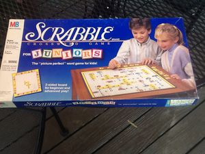 SCRABBLE FOR JUNIORS GAME for Sale in Harrisburg, NC