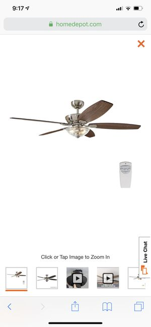 "54"" indoor ceiling fan for Sale in Mableton, GA"