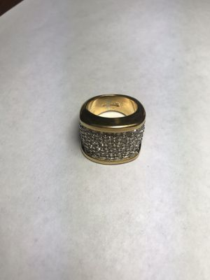 18KT GEA Women's Ring in excellent condition w\ Gems for Sale in Washington, DC