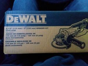 Dewalt 20v Lithium Ion Grinder Kit (Tool Only) for Sale in Portland, OR