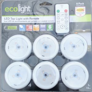LED Tap Lights w/ Remote Dimmable - Stick Anywhere for Sale in San Francisco, CA
