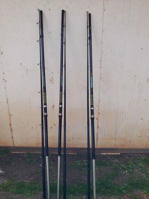 3 heavy ulua poles for Sale in Waipahu, HI