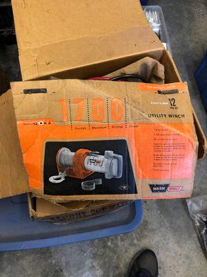 Warn winch, model 1700 never used for Sale in Lynnwood, WA