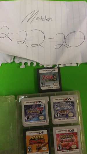 Nintendo DS and 3DS video games for Sale in Chula Vista, CA