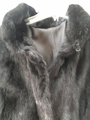 Mink / Leather reversible 52 inch. President's Day SALE. for Sale in Las Vegas, NV