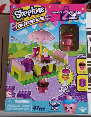 Shopkins Legos Party Fun Set for Sale in Gainesville, VA