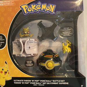 Pokémon Pikachu And Abra Ultimate Throw 'N' Pop Set for Sale in North Augusta, SC