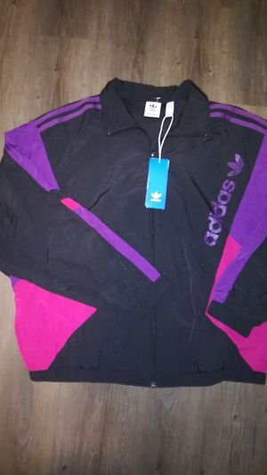 Adidas womens windbreaker jacket for Sale in Commerce City, CO