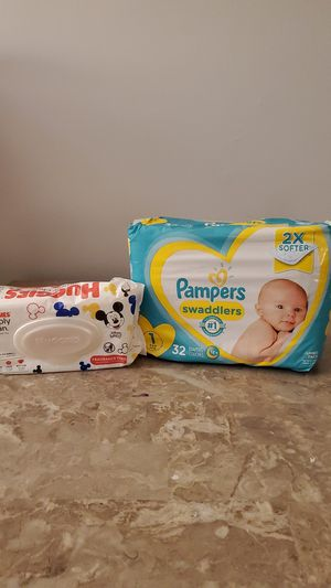 Pampers diapers & baby wipes 🛑 👀If it's listed, it's available😊 for Sale in Federal Way, WA