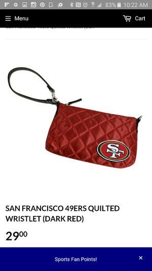 San Francisco 49ers wristlet for Sale in Nashville, TN