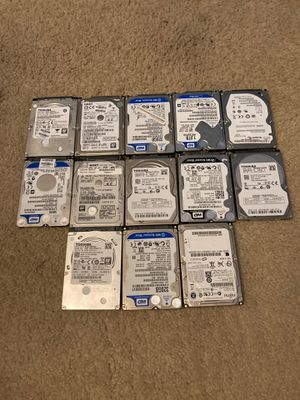 Lot of Hard Drives (Read Description For Prices) for Sale in Cary, IL