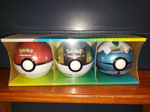 Pokemon Balls with card packs for Sale in Anaheim, CA