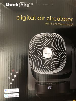 Geek Aire AF1s desk Floor oscillating fan for Sale in Hollywood, FL