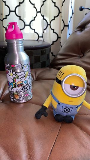 Minion plush and water bottle for Sale in Kent, WA