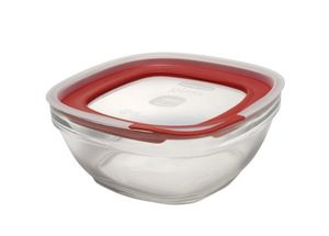 Rubbermaid easy find lids glass food storage container, 11.5 cup for Sale in Irving, TX