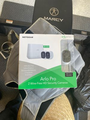 Arlo Pro 2 Wire-free HD security cameras for Sale in Oro Valley, AZ