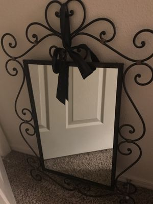 Iron wall mirror for Sale in Glendale, AZ