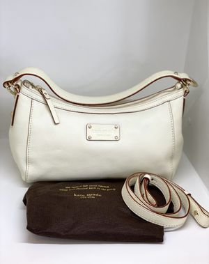 KATE SPADE💥NWOT💥NY IVORY Pebble LEATHER CONVERTIBLE HOBO BAG for Sale in Orlando, FL