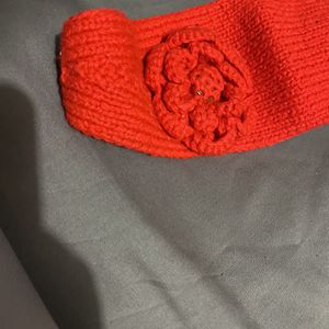 Red Knitted Headband for Sale in Modesto, CA