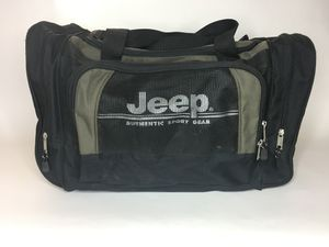 Jeep large duffle bag travel carry on luggage for Sale in Chino, CA