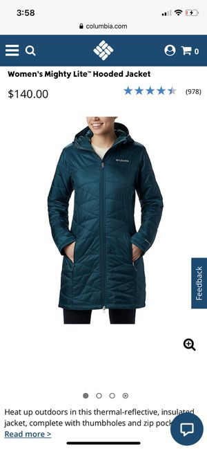Women's Columbia parka for Sale in St. Helens, OR