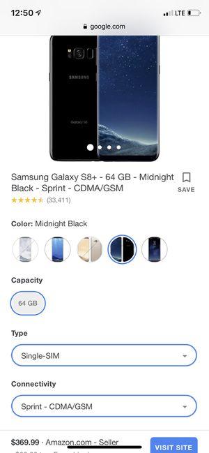 Galaxy s8 for Sale in Mesa, AZ