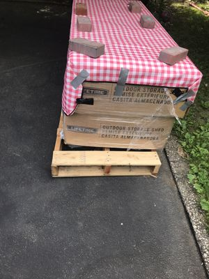 Lifetime shed 8x12.5 brand new in box $1100 OBO for Sale in Yonkers, NY