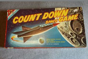 Vintage 1967 Count Down Space Game Transogram for Sale in Wenatchee, WA