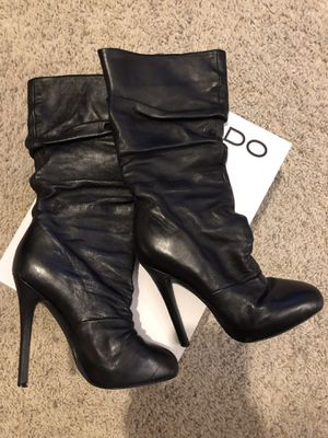 Aldo Leather Boots Size 36 for Sale in Guadalupe, AZ