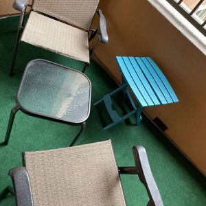 Patio Folding Chair & Table for Sale in Santa Ana, CA