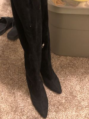 Women's Black Thigh High Boot (5.5) for Sale in Kent, WA