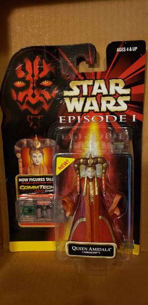 Star Wars action figure Queen Amidala for Sale in Manteca, CA