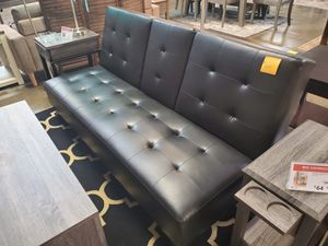 Futon with Cupholders, Black for Sale in Westminster, CA