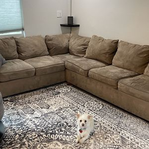 Sectional Sleeper Sofa and Ottoman for Sale in Seattle, WA