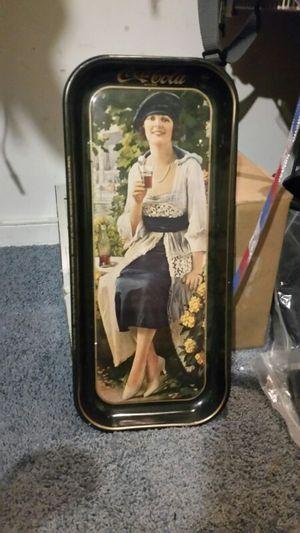 Coca cola tray-plater for Sale in Henrico, VA