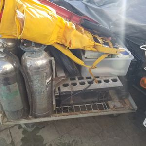 Stainless steel Tanks And Table Saw for Sale in Half Moon Bay, CA