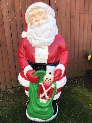Vintage large Blow Mold Santa for Sale in Norwalk, CT