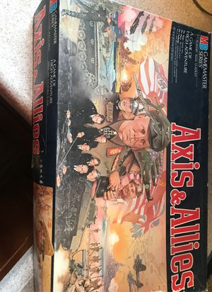Axis and Allies vintage 1986 board game for Sale in Tacoma, WA