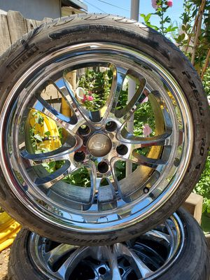 """Tires with rims 18"""" for Sale in Modesto, CA"""