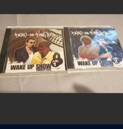 Sway And King Tech Wake Up Show Freestyle Volume 1 & 2 New Cds Rare Lowest Price for Sale in West Sacramento,  CA