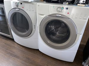 WHIRLPOOL HE FRONT LOAD WASHER AND DRYER SET for Sale in Chino, CA
