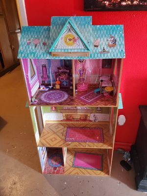 Frozen doll house for Sale in Corona, CA
