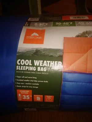 Ozark trail sleeping bag for Sale in Payson, AZ