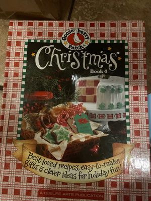Gooseberry patch Christmas book for Sale in Granite Bay, CA
