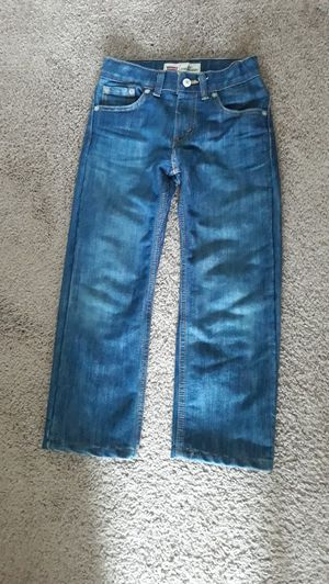 Boy size 6 Levi's jeans for Sale in Tacoma, WA