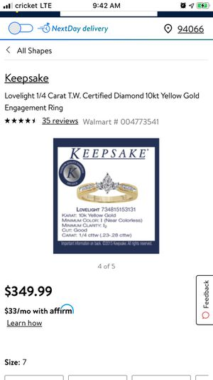 Keepsakes 10kt Yellow Gold. for Sale in Tulsa, OK