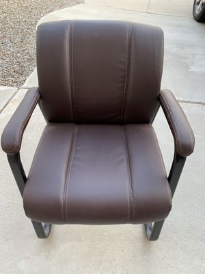 Leather Office/Reception/Waiting Room Chairs for Sale in Albuquerque, NM