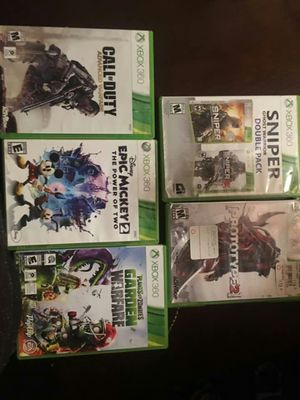 Xbox 360 games for Sale in Hyattsville, MD