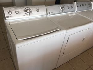 Maytag Centennial Washer and Electric Dryer. WELCOME CREDIT CARDS.. for Sale in El Paso, TX